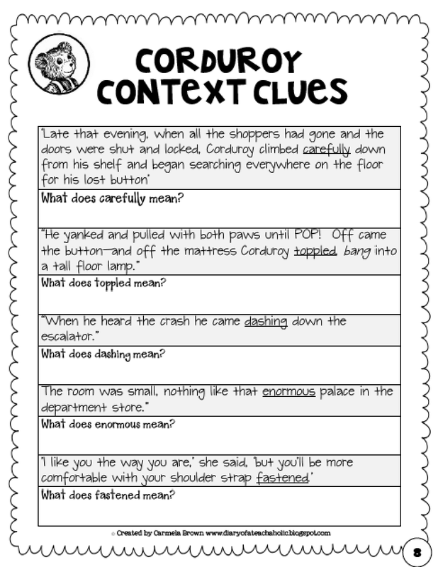 Types Of Context Clues Worksheets Free Worksheets Library – Context Clues Worksheets 3rd Grade